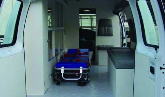 Recubrimientos para autobuses y ambulancias